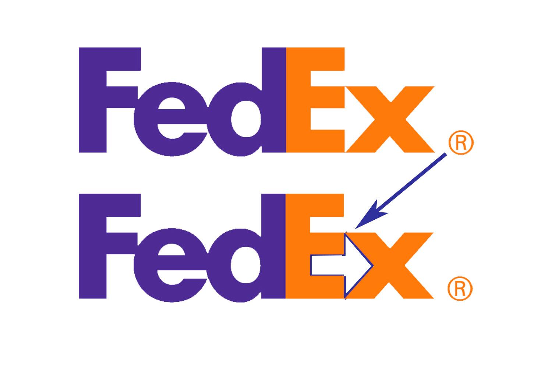 La publicidad subliminal juega un papel importante en FedEx